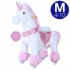 Licorne à roulettes, Pony Cycle (medium) pour fille de 4 à 10 ans