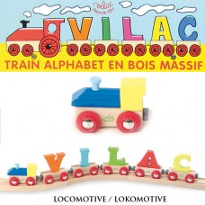 Locomotive en bois Vilac