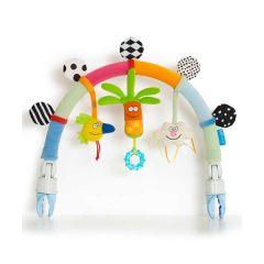 Arche d'éveil Arc en Ciel Jouet pour poussette Nouveau Né Taf Toys