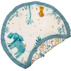 Tapis de jeu Soft et Sac de rangement de jouets Elefant Play & Go, 120 cm diamètre
