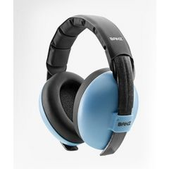 Pamirs Protection auditive pour bébé 0-2, bleu, Babybanz