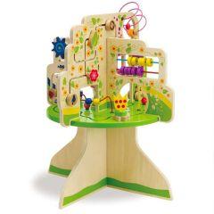Table d'activités Bébé dès 12 mois, Abre Manhattan Toys avec jeux premier âge, Livraison Gratuite