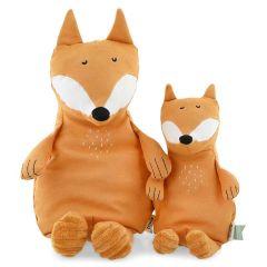 Peluche Trixie pur Coton biologique, Tissus durables et recyclé à 100%, 2 tailles à choix, dès la naissance, renard