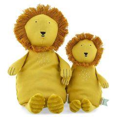 Peluche Trixie pur Coton biologique, Tissus durables et recyclé à 100%, 2 tailles à choix, dès la naissance, lion