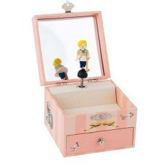 Boîte à bijoux musicale Moulin Roty, Idée Cadeau 2 ans