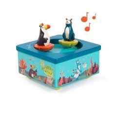 Boîte à musique pour bébé Jungle, Koala et Touch, Idée Cadeau Naissance Moulin Roty