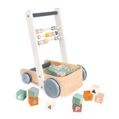 Chariot de Marche, Premiers pas de bébé, ABC Buggy Janod Sweet Cocoon, de 1 à 4 ans Livraison Gratuite