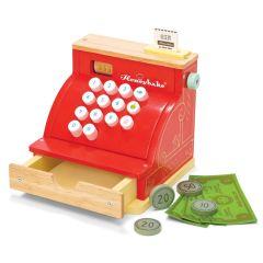 Caisse enregistreuse Rouge, jeu Bois dès 3 ans, Le Toy Van Boutique Suisse