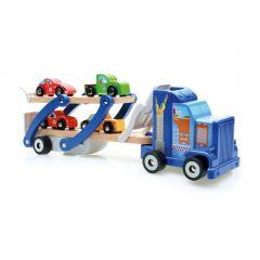 Camion porte-voitures Jouet en bois Garçon Scratch
