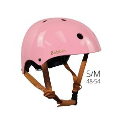 Casque Vélo Enfant Style retro, S/M, 48-54 cm rose, Bobbin