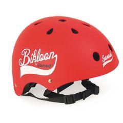 Casque Vélo jeune Enfant Bikloon rouge, Janod