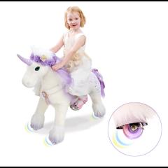 Premium Licorne à roulettes qui clignotent, Pony Cycle Cassidy, Livraison Gratuite