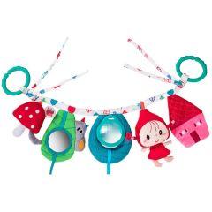 Le Chaperon Rouge en promenade jouet pour fille à accrocher au maxi cosy et poussette Lilliputiens
