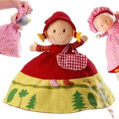 Marionnette réversible 3 en 1, Petit chaperon rouge Lilliputiens