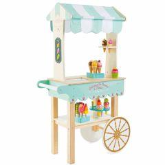 Jouet Chariot Glaces Jouet Bois avec Accessoires, Le Toy Van, Garçon ou Fille dès 3 ans, Boutique Suisse