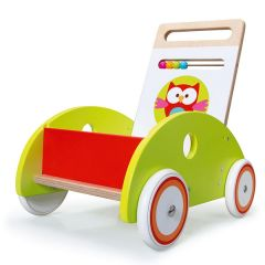 Chariot pour apprendre à marcher Hibou Lou Scratch