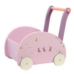 Chariot de marche Cadeau petite fille dès 12 mois Il était une fois de Moulin Roty