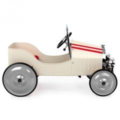 Voiture à Pédales Classique Blanche, Idée Cadeau Enfant 3 ans, Livraison Gratuite, Boutique Suisse