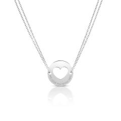 Collier Coeur pour Maman, Cadeau pour future Maman, Cadeau Naissance à personnaliser, Aaina & Co