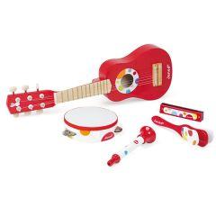 Set musical Confetti music Live avec Guitare Janod