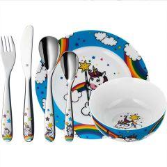 Couverts Vaisselle Licorne Cadeau personnalisé Fille 3  - 9 ans, WMF