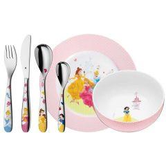 Couverts Assiette Fille Princesses Disney Cadeau à graver 6 pièces WMF