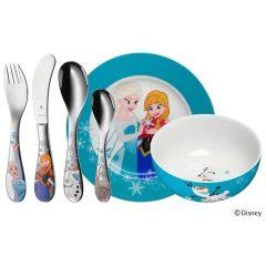 Couverts Assiette Reine des Neige Elsa Disney Cadeau à graver 6 pièces WMF