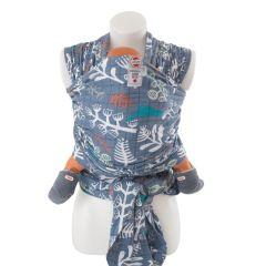 Echarpe Bébé Tissu Respirant Portage Facile 100% coton hydrophile, pour Bébé Garçon dès la naissance, Lodger ocean, Livraison Gratuite