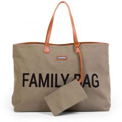 Grand Sac à Langer Childhome pour la famille, vert kaki, Boutique en Ligne Suisse