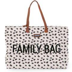 Family Bag Grand Sac à Langer pour toute la famille, Imprimé Léopard, Childhome, Boutique en Ligne Suisse
