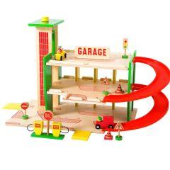 Garage Voiture en bois pour enfant Moulin Roty