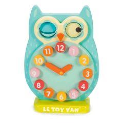 Horloge Le Toy Van, Jouet pour apprendre les heures, Jeu en Bois