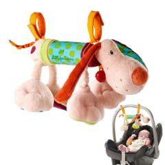 Jouet à fixer maxi cosy pour Bébé dès 3 mois Petit Chien Jef de Lilliputiens