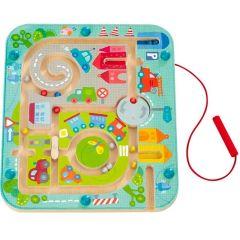 Jeu Haba magnétique Ville labyrinthe, Enfant 2 ans, Haba