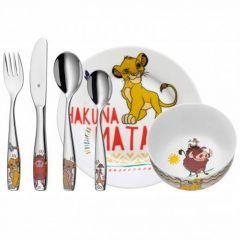 Couverts Assiette Enfant Le Roi Lion, Cadeau à personnaliser en gravant prénom WMF