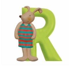 Lettre en Résine Moulin Roty, R