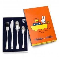 Services pour enfant à graver Miffy Transport Zilverstad, Boutique Suisse
