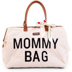 Sac à langer Teddy écru XXL Mommy Bag, Idée Cadeau Maman Childhome, Edition Limitée Livraison Gratuite