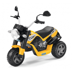 Jouet Moto électrique Ducati Scrambler 6V pour les enfants dès 2 ans, Peg Pérego