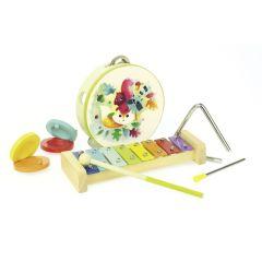 Set d'instruments de musique pour enfant, Jouet musical Vilac, Woodland