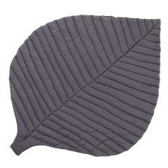 Tapis de Jeu coton biologique certifié GOTS Toddlekind, Leaf Anchor Black
