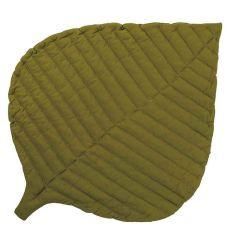 Tapis de Jeu coton biologique certifié GOTS Toddlekind, Leaf Sand Castle