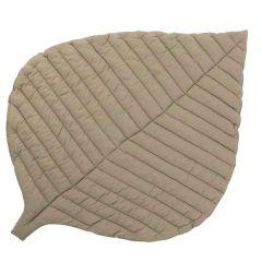 Tapis de Jeu coton biologique certifié GOTS Toddlekind, Leaf Tan