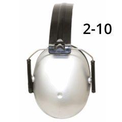 Protection auditive pour enfant 2-10, argent Baby Banz