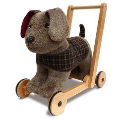 Trotteur Chien Percy Pup dès 12 mois, Bébé apprend à marcher, Little Bird Told Me, Boutique Suisse