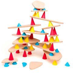 Jeu pédagogique Piks Big 64 pièces, Jouet Construction et Equilibre dès 3 ans