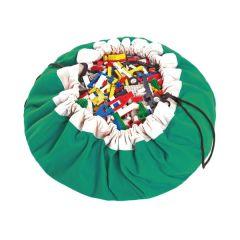 Sac de jeux Classic vert Baluchon Rangement jouets Play & Go
