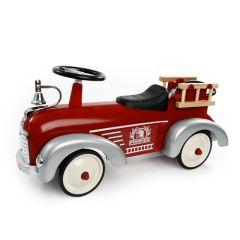 Porteur Baghera camion de pompier, petite voiture bébé et enfant jusqu'à 3 ans, Livraison Gratuite