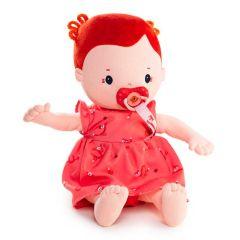 Poupon Poupée Chiffon Rose Lilliputiens, dès 2 ans, avec couche et tétine