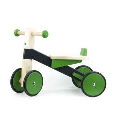 Porteur en bois vert, cadeau dès 1 an, Idée Cadeau Premier Anniversaire Bébé 12 mois, Livraison Gratuite, Bajo